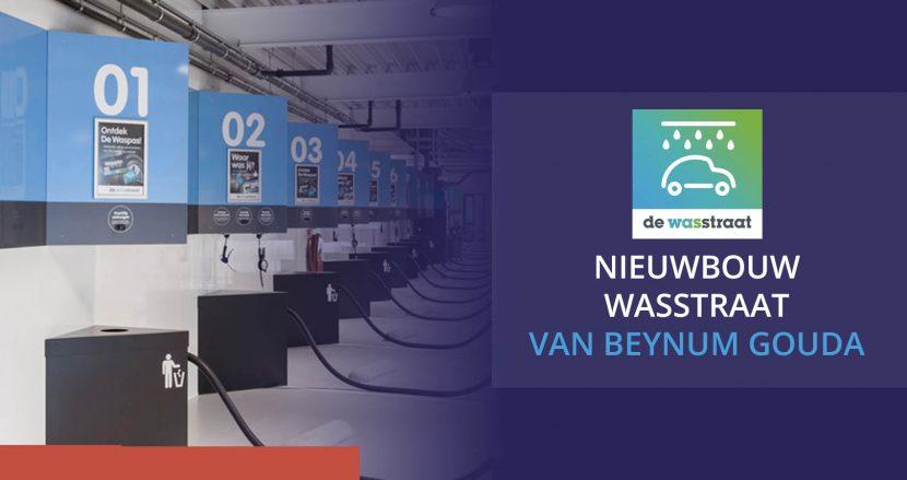 Renovierung und Neubau Autowaschanlage Gouda van Beynum
