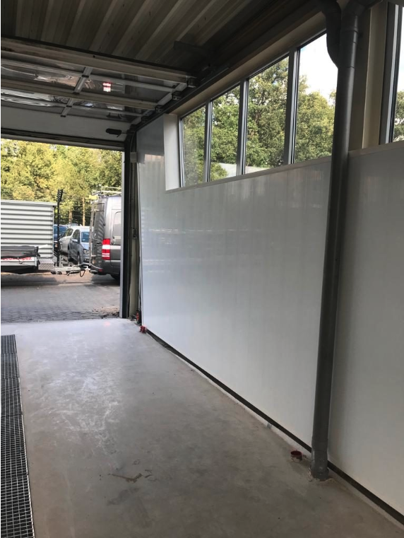 Renovatie wasstraat Autowascentrum Bleeker in Twente